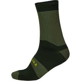 Endura Hummvee II Waterproof Socks Men, forest green